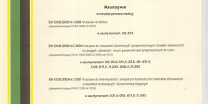BAZALT S.A - certyfikat - 01